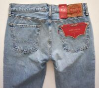 Levi's Levis Nwt Mens 514 Straight 005140988 Gingham Warp Stretch Denim Jeans