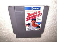 Bases Loaded 3 : Ryne Sandberg (Nintendo NES) Authentic Game Cartridge Exc!