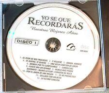 Yo Se Que Recordaras Nuestros Mejores Anos Various Artists ~ Disco 1 ~