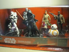STAR WARS:THE FORCE AWAKENS DISNEY PLAY SET-BB 8-KYLO-PHASMA- 6PC.SET-NIB