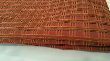 "4 YD Red Geometric Squares Stripe High Quality Woven 54"" Home Dec Fabric Sewing"