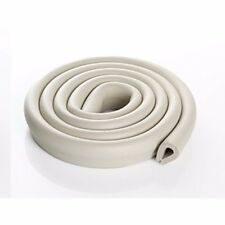2m Stripe Baby Kids Table Desk Edge Corner Protector Cushion Foam Bumper Guard Grey 2m