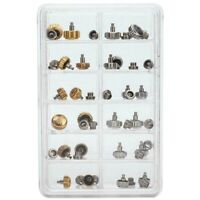 40PCS Watch Crowns Watch Waterproof Replacement Assorted Repair Tools with  H9O6