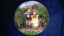 Hummel Country Crossroads Collector Plate 1990 Little Companions Collection