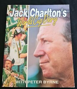 Jack Charlton World Cup Diary 1990 Ireland Soccer Book SIGNED