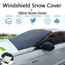 Car Truck Windshield Snow Sun Cover Frost ice-proof+Mirror Protector Storage Bag