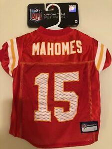 PATRICK MAHOMES #15 Kansas City Chiefs 2020 NFLPA Dog Jersey Red, Sizes XS-XL