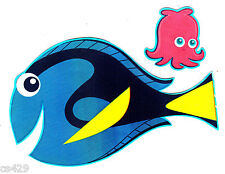 """4"""" Disney finding nemo fish peel & stick wall border cut out character"""