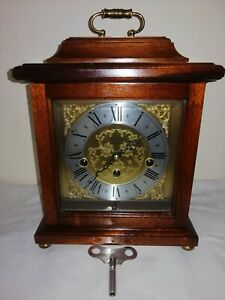 Franz Hermle, Westminster Chimes Bracket Clock, 340-020 Movement. Excellent Cond