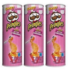 Pringles Butter Caramel Flavor Potato Chips Korean Snacks Food 110g x 3packs