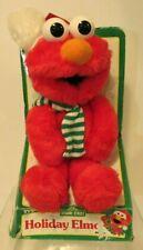 vtg Christmas Elmo 1996 box huggable plush buddy pal Jim Henson Sesame Street