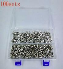 Cabinet Cage Nuts Mounting Screws Washers 100 Sets High Quality Server Rack