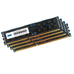 64GB OWC CL13 PC3-14900 1866MHz DDR3 ECC Registered SDRAM 4x16GB Quad Channel
