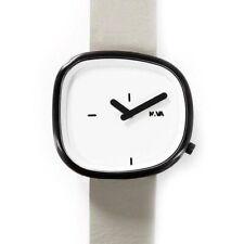 Nava Design Stone Dial Watch Gift Set | White