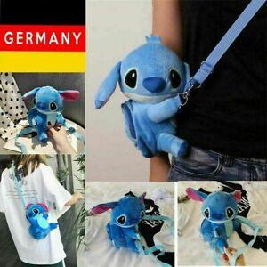 Lilo & Stitch Plüsch Messenger Tasche Spielzeug Satchel Stofftier Kuscheltier