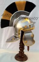 Roman Centurion Helmet (with red plume) larp role-play re-enactment
