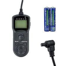 JJC TM-A Timer Remote Control for Canon EOS 5D MK2 MK3 7D 10D 30D 50D TC-80N3
