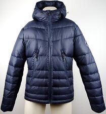 Abercrombie & Fitch Hombre chaqueta invierno chaqueta talla M Navy nuevo con etiqueta