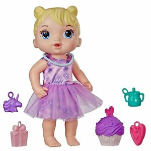 **NEW** Baby Alive Cupcake Party Surprises Party Presents Baby (Blonde) HASBRO