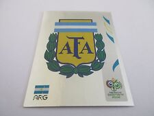Sticker PANINI Fifa World Cup GERMANY 2006 N°170 Logo Écusson Argentina