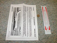 Flight Path decals 1/144 Fp44-83 Pacific Southwest Airlines Dc-9 old col. H78