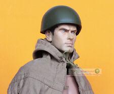 Soviet Russian WW2 1:6 Scale Figure Russia Warsaw Soldier Red Army Helmet DA47