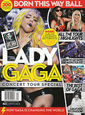 NEW! LADY GAGA MAGAZINE 2013 CONCERT TOUR SPECIAL Born This Way Ball 80 pages