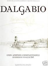 Dalgabio, Architecte - Dessins du voyage de 1843 - P