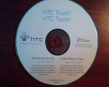 CD HTC Touch Getting Started Disc 69H10093-01M Ver A ActiveSync 4.5