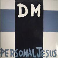 "Depeche Mode Personal Jesus 12"" Vinyl  Record 3 Tracks Remixes 1989 075992132800"