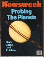 PROBING THE PLANETS Newsweek Magazine 9/10/79 SATURN SPACE