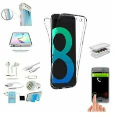 7 x Full Body TPU Case Earphone Accessory For Samsung Galaxy S8 S9 Plus Note 8 9