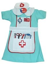 Childrens Kids Girls Nurse Uniform Fancy Dress Costume for Ages 2-7 Ty350 Age 5-7 Years