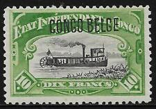 Belgian Congo stamps 1909 OBP 39B  MLH  F/VF