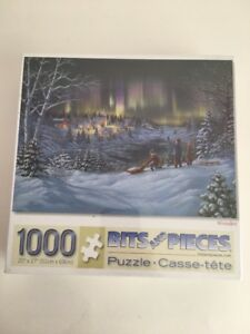 """WONDER 1000 Pieces Puzzle Bits And Pieces 20"""" x 27"""" New Sealed"""