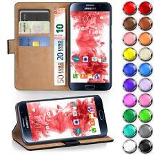 Handy Tasche für Samsung Galaxy Flip Cover Case Etui Schutz Hülle Schale Wallet