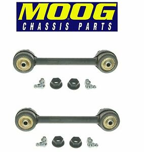 For Ford Taurus Mercury Sable Set of 2 Rear Stabilizer Sway Bar End Links Moog