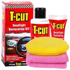 T-Cut Headlight Restoration Kit Polishing Restorer Sealant Headlamp + PAD