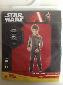 Star Wars Finn Costume Disney Age 7-8 years By Rubie's New Classic Finn Outfit
