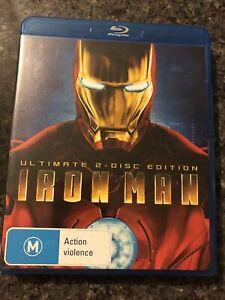 Iron Man 2-Disc Bluray (2010, M15+)