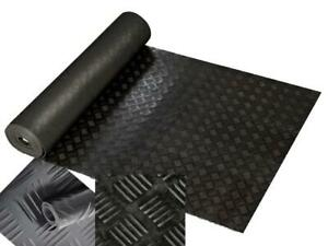 Workshop, Gym, Protection Ute Liner Mat - 5mm Rubber 1M Wide X 5M Roll