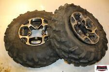 2016 Can-Am Outlander Max 650XT Front Wheels Rims W Tires 705401333