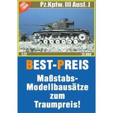 Pz.Kpfw. III Ausf. J - Best-Preis 72004, 1:72