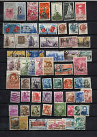 61 timbres Italie 1959/1961