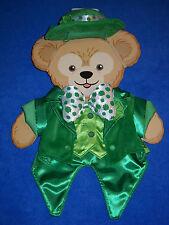Duffy Bear St Patricks Shamrocks Outfit Clothes Costume Disney New Nwt
