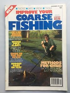 Improve Your Coarse Fishing magazine - December 1991 Issue Number 6