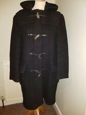 John Partridge Montgomery Mens Wool Blend Dark Navy Duffle Coat, Size 36