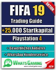FIFA 19 - FUT - ULTIMATE TEAM - Coins Münzen Trading Guide - +25k Startkapital