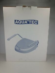 Invacare Aquatec AT 900 Toilet Seat Raiser with Armrests White