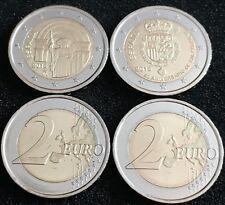 2 Euro Gedenkmünzen aus Spanien 2018 - Compostela und Felipe VI (2 Münzen) RAR!
